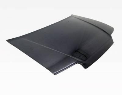 VIS Racing - Carbon Fiber Hood OEM Style for Honda CRX Hatchback 88-91 - Image 1