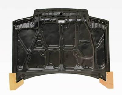 VIS Racing - Carbon Fiber Hood OEM Style for Honda CRX Hatchback 88-91 - Image 4