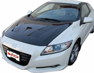 VIS Racing - Carbon Fiber Hood AMS Style for Honda CR-Z Hatchback 11-16 - Image 1