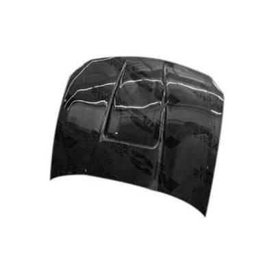 VIS Racing - Carbon Fiber Hood G Force Style for Honda Del Sol 2DR 93-97 - Image 1