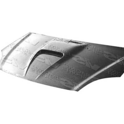 VIS Racing - Carbon Fiber Hood G Force Style for Honda Del Sol 2DR 93-97 - Image 2
