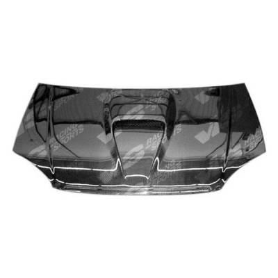VIS Racing - Carbon Fiber Hood G Force Style for Honda Del Sol 2DR 93-97 - Image 3