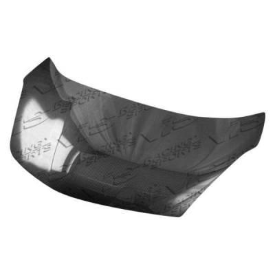VIS Racing - Carbon Fiber Hood OEM Style for Honda Fit  4DR 09-14 - Image 1