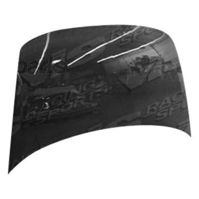 VIS Racing - Carbon Fiber Hood OEM Style for Honda Fit (JDM) 4DR 07-08 - Image 2