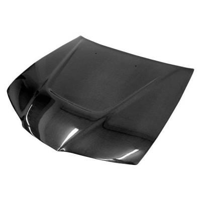 VIS Racing - Carbon Fiber Hood JS Style for Honda Prelude 2DR 92-96 - Image 2
