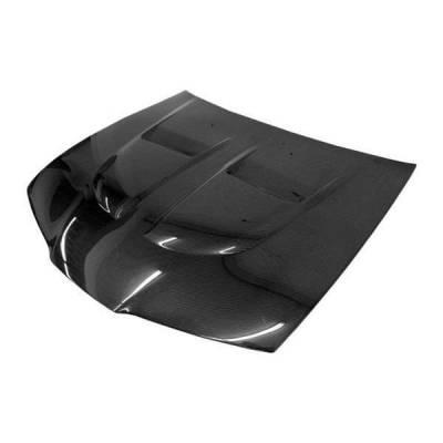 VIS Racing - Carbon Fiber Hood Xtreme GT Style for Honda Prelude 2DR 92-96 - Image 1