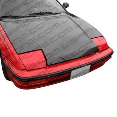 VIS Racing - Carbon Fiber Hood OEM Style for Honda Prelude 2DR 88-91 - Image 2