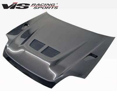 VIS Racing - Carbon Fiber Hood EVO Style for Honda Prelude 2DR 97-01 - Image 2
