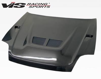 VIS Racing - Carbon Fiber Hood EVO Style for Honda Prelude 2DR 97-01 - Image 3