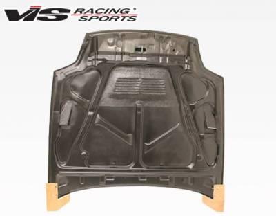 VIS Racing - Carbon Fiber Hood EVO Style for Honda Prelude 2DR 97-01 - Image 4