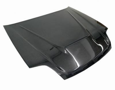 VIS Racing - Carbon Fiber Hood Invader Style for Honda Prelude 2DR 97-01 - Image 2