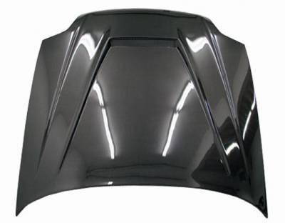 VIS Racing - Carbon Fiber Hood Invader Style for Honda Prelude 2DR 97-01 - Image 4