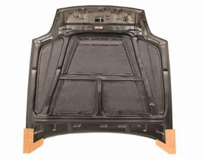VIS Racing - Carbon Fiber Hood Invader Style for Honda Prelude 2DR 97-01 - Image 5