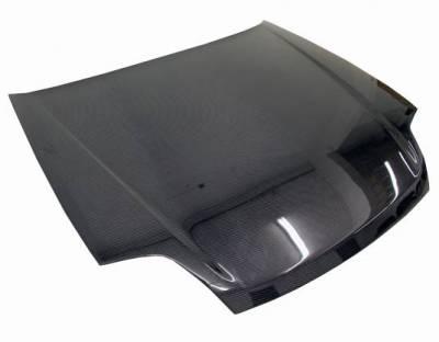 VIS Racing - Carbon Fiber Hood OEM Style for Honda Prelude 2DR 97-01 - Image 1