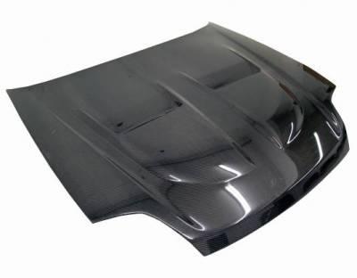VIS Racing - Carbon Fiber Hood Xtreme GT Style for Honda Prelude 2DR 97-01 - Image 1
