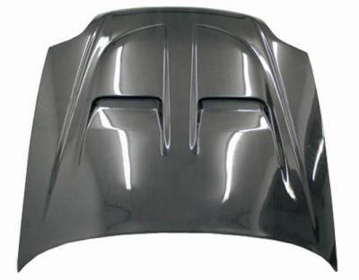 VIS Racing - Carbon Fiber Hood Xtreme GT Style for Honda Prelude 2DR 97-01 - Image 2