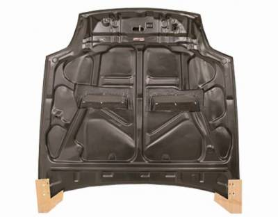 VIS Racing - Carbon Fiber Hood Xtreme GT Style for Honda Prelude 2DR 97-01 - Image 3