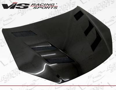 VIS Racing - Carbon Fiber Hood AMS Style for Hyundai Genesis 2DR 13-16 - Image 2