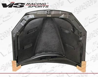 VIS Racing - Carbon Fiber Hood AMS Style for Hyundai Genesis 2DR 13-16 - Image 4
