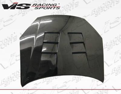 VIS Racing - Carbon Fiber Hood Terminator Style for Hyundai Genesis 2DR 13-16 - Image 4