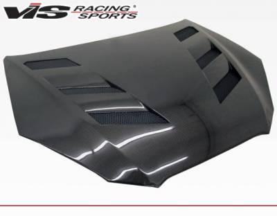 VIS Racing - Carbon Fiber Hood AMS Style for Hyundai Genesis 2DR 10-12 - Image 2