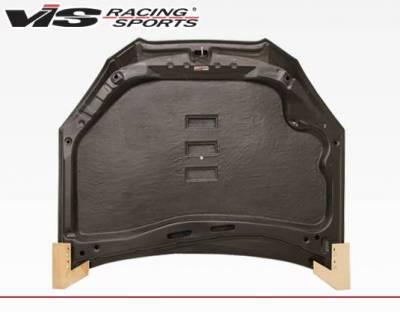VIS Racing - Carbon Fiber Hood Pro Line Style for Hyundai Genesis 2DR 2009-2012 - Image 4