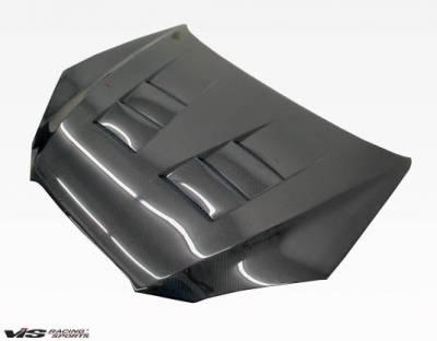 VIS Racing - Carbon Fiber Hood Terminator Style for Hyundai Genesis 2DR 2009-2012 - Image 1