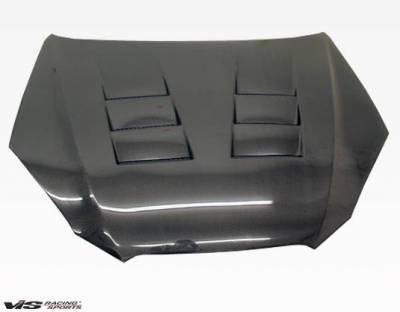 VIS Racing - Carbon Fiber Hood Terminator Style for Hyundai Genesis 2DR 2009-2012 - Image 2