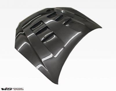 VIS Racing - Carbon Fiber Hood Terminator Style for Hyundai Genesis 2DR 2009-2012 - Image 3