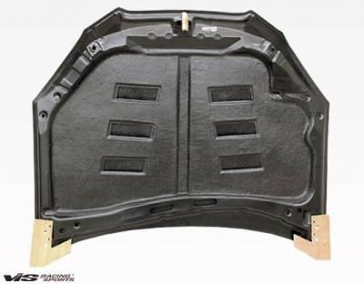 VIS Racing - Carbon Fiber Hood Terminator Style for Hyundai Genesis 2DR 2009-2012 - Image 4