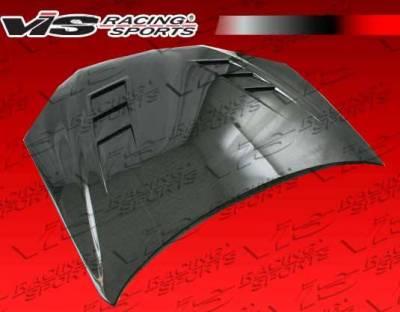 VIS Racing - Carbon Fiber Hood Terminator GT Style for Hyundai Genesis 2DR 2009-2012 - Image 2