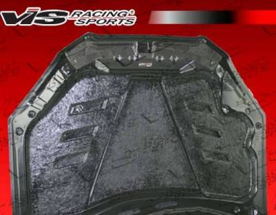 VIS Racing - Carbon Fiber Hood Terminator GT Style for Hyundai Genesis 2DR 2009-2012 - Image 3