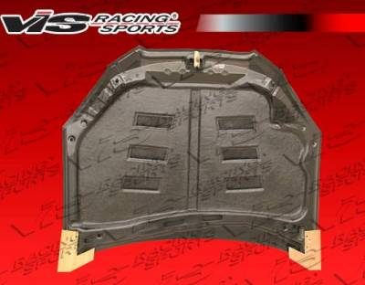 VIS Racing - Carbon Fiber Hood Terminator GT Style for Hyundai Genesis 2DR 2009-2012 - Image 4