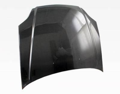 VIS Racing - Carbon Fiber Hood OEM Style for Hyundai Tiburon 2DR 03-06 - Image 3