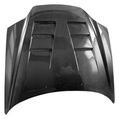 VIS Racing - Carbon Fiber Hood Terminator Style for Hyundai Tiburon 2DR 03-06 - Image 3