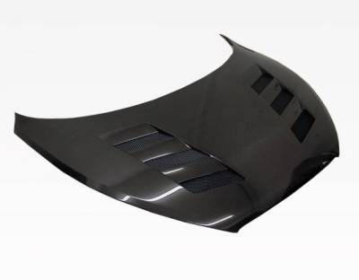 VIS Racing - Carbon Fiber Hood AMS Style for Hyundai Veloster 2DR 12-13 - Image 1