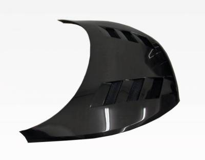 VIS Racing - Carbon Fiber Hood AMS Style for Hyundai Veloster 2DR 12-13 - Image 2