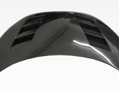 VIS Racing - Carbon Fiber Hood AMS Style for Hyundai Veloster 2DR 12-13 - Image 4
