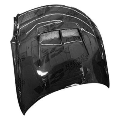 VIS Racing - Carbon Fiber Hood JS Style for Infiniti G35 2DR 03-07 - Image 1