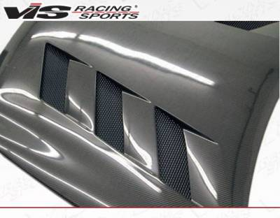 VIS Racing - Carbon Fiber Hood AMS Style for Infiniti G35 4DR 03-04 - Image 4
