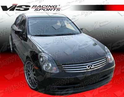 VIS Racing - Carbon Fiber Hood OEM Style for Infiniti G35 4DR 03-04 - Image 3