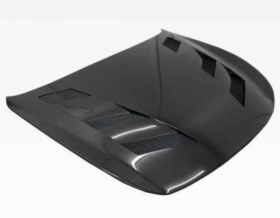 VIS Racing - Carbon Fiber Hood AMS Style for Infiniti Q60 2DR 14-15 - Image 1