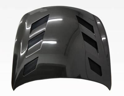 VIS Racing - Carbon Fiber Hood AMS Style for Infiniti Q60 2DR 14-15 - Image 3