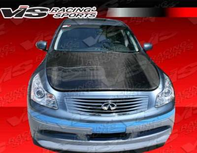 VIS Racing - Carbon Fiber Hood OEM Style for Infiniti G37 4DR 09-13 - Image 3