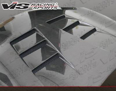 VIS Racing - Carbon Fiber Hood Terminator Style for Infiniti G37 4DR 09-13 - Image 3