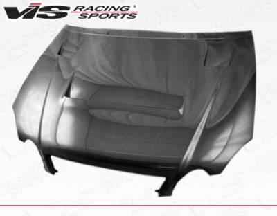 VIS Racing - Carbon Fiber Hood Alfa Style for Lexus GS300/400 4DR 98-05 - Image 1