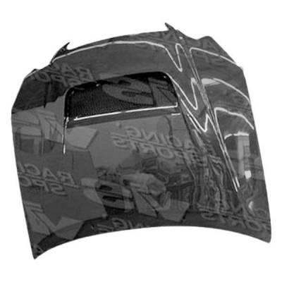 VIS Racing - Carbon Fiber Hood V Line Style for Lexus GS300/400 4DR 98-05 - Image 2