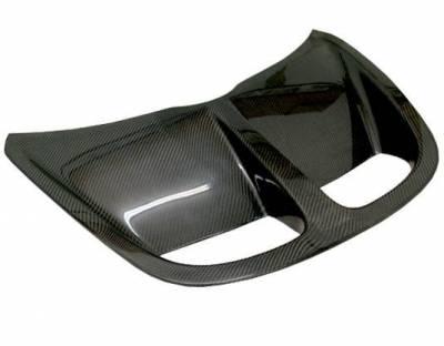 VIS Racing - Carbon Fiber Hood OEM  Style for Lotus Elise  2DR 96-99 - Image 3