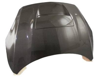 VIS Racing - Carbon Fiber Hood M Speed Style for Mazda 3 Hatchback 10-13 - Image 3
