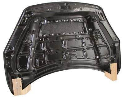 VIS Racing - Carbon Fiber Hood M Speed Style for Mazda 3 Hatchback 10-13 - Image 4